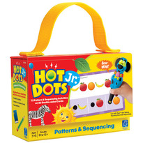Educational Insights Carduri Junior Hot Dots Atribute