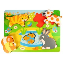 Bigjigs Puzzle - Animale de companie
