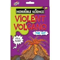 GALT Kit experiment - Violent Volcano