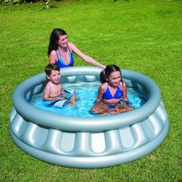 Piscina gonflabila Space Ship