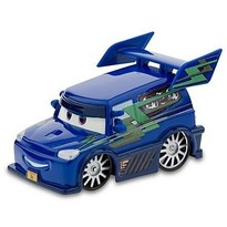 Mattel Masinuta Cars 2 - DJ With Flames