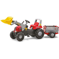 Rolly Toys Tractor cu pedale si remorca copii-811397