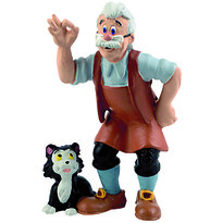 Bullyland Geppetto tatal lui Pinocchio
