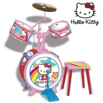 Reig Musicales Set tobe baterie Hello Kitty