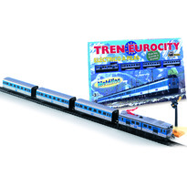 Pequetren Set Trenulet electric calatori EUROCITY