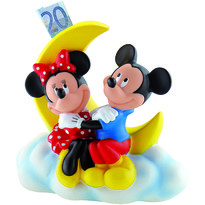 Bullyland Pusculita Mickey & Minnie Mouse