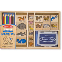 Melissa & Doug Set de stampile - Animale