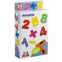 Set cifre magentice 54 piese