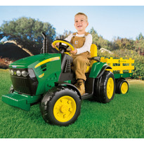 Peg Perego Tractor electric John Deere Ground Force