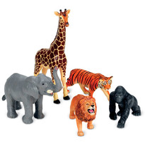 Learning Resources Set figurine mari Animale din jungla