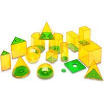 Learning Resources Set forme geometrice GeoSolids