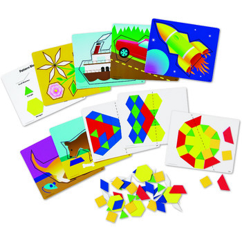 Learning Resources Set de forme magnetice pentru construit modele