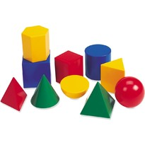 Learning Resources Forme geometrice din plastic