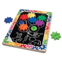 Melissa & Doug Puzzle magnetic Schimba si roteste
