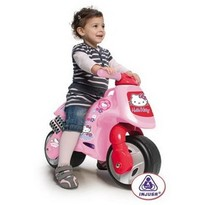 Injusa Motocicleta fara pedale Hello Kitty