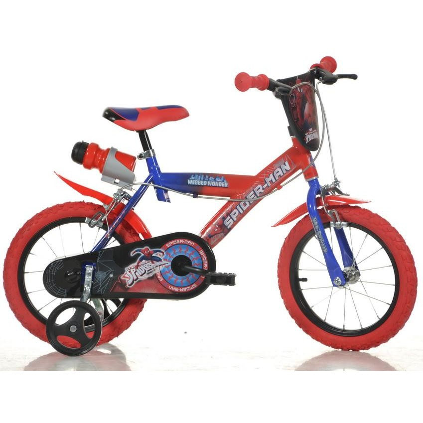 Bicicleta copii Spider Man - 163G SP