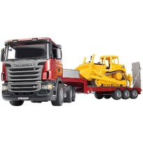 Bruder Camion Scania si buldozer Cat