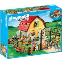 Playmobil Set figurine Ferma poneilor