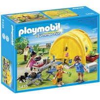 Set figurine In excursie la camping