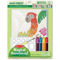 Melissa & Doug Set pictura - 4 scene Padurea tropicala
