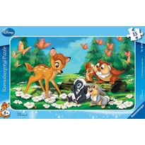 Puzzle Bambi - 15 Piese