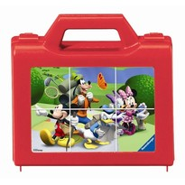 Puzzle clubul Mickey Mouse - 6 piese