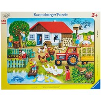 Ravensburger Puzzle Unde sa il asez - 15 Piese