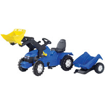 Rolly Toys Tractor cu pedale si remorca