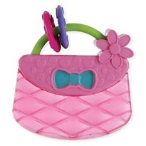 Bright Starts Posetuta Pretty in Pink Carry & Teethe Purse