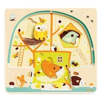 Djeco 3 layers puzzle - Chez-nut