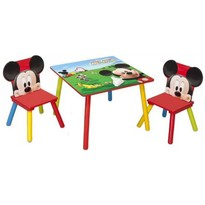 Delta Children Set masuta si 2 scaunele - Disney Mickey Mouse