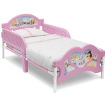 Delta Children Pat cu cadru metalic - Disney Princess