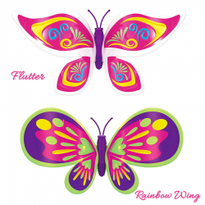 Set 2 bucati Fluturasul magic - Bright Wing si Flutter
