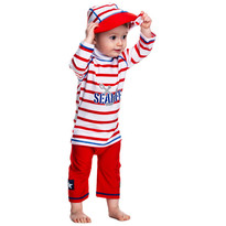Swimpy Costum de baie SeaLife red  protectie UV