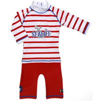 Swimpy Costum de baie SeaLife red protectie solara