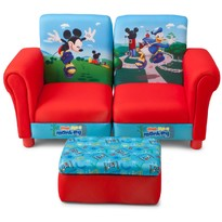 Delta Children Canapea 3 in 1 Disney Mickey Mouse