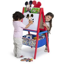Delta Children Tabla magnetica multifunctionala Mickey Mouse