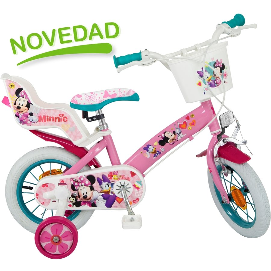 Bicicleta copii Mickey Mouse Club House fete 12