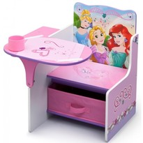 Delta Children Scaun multifunctional din lemn Disney Princess Friendship