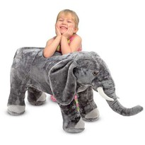 Melissa & Doug Elefant din plus
