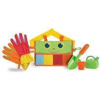 Melissa & Doug Centura cu unelte de gradinarit Happy Giddy