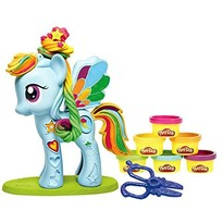 Hasbro Set Plastilina Play-Doh Salonul lui Raindow Dash