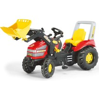 Rolly Toys Tractor cu pedale - rosu