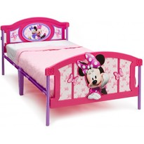Delta Children Pat cu cadru metalic Twin Disney Minnie Mouse