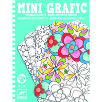 Djeco Mini grafic - Flori