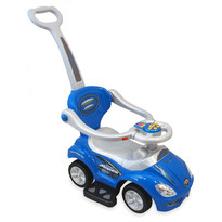 Baby Mix Masinuta de impins copii URZ382 2 in 1 Blue