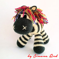 Zebra Patricia 20 cm by Simona Red