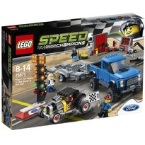 Speed Champions - Ford F-150 Raptor & Ford Model A Hot Rod