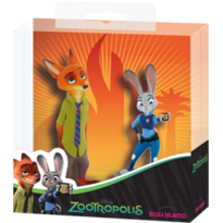 Bullyland Set Nick Wilde-Juddy Hoops-Zootropolis