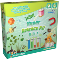 Science4you Kit 6 in 1 - Super experimente